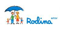 Logo MPSV Rodina 02 textvedle color